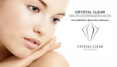 Caci & Crystal Clear Microdermabrasion Facials are 1/2 Price