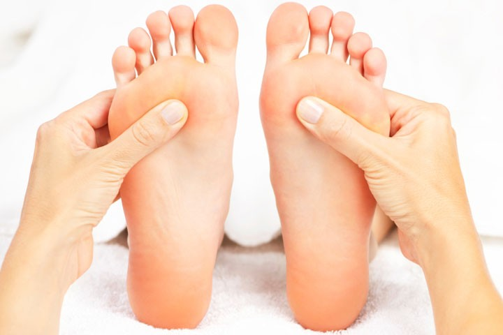 Reflexology Treatments with Thorney