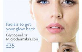 Get your glow back in September- Microdermabrasion and Glycopeel offer