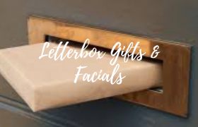 LETTER BOX GIFTS & LETTERBOX FACIALS